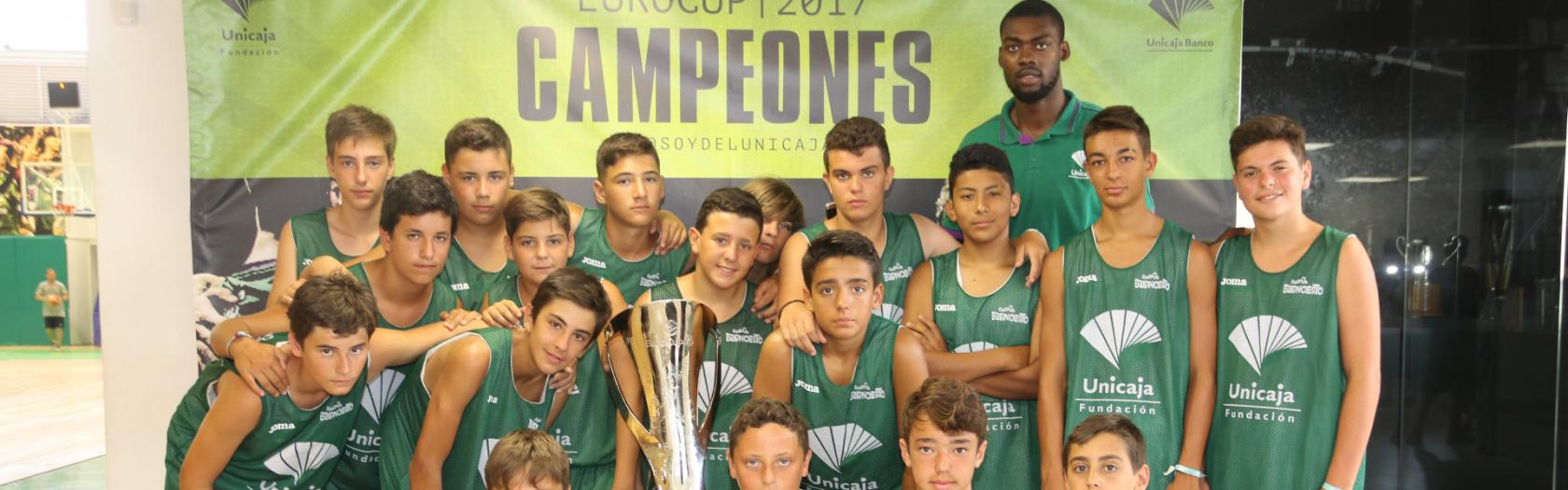 Campus Unicaja visited Los Guindos Arena