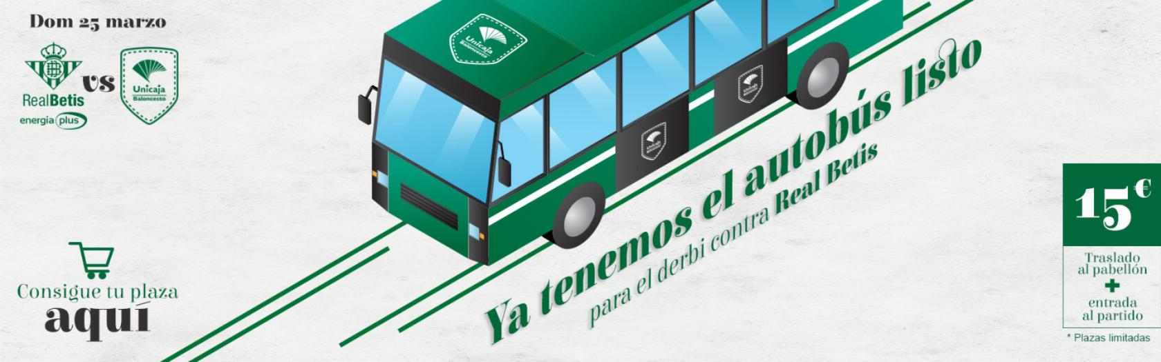 Travel to Seville to watch the game Betis - Unicaja