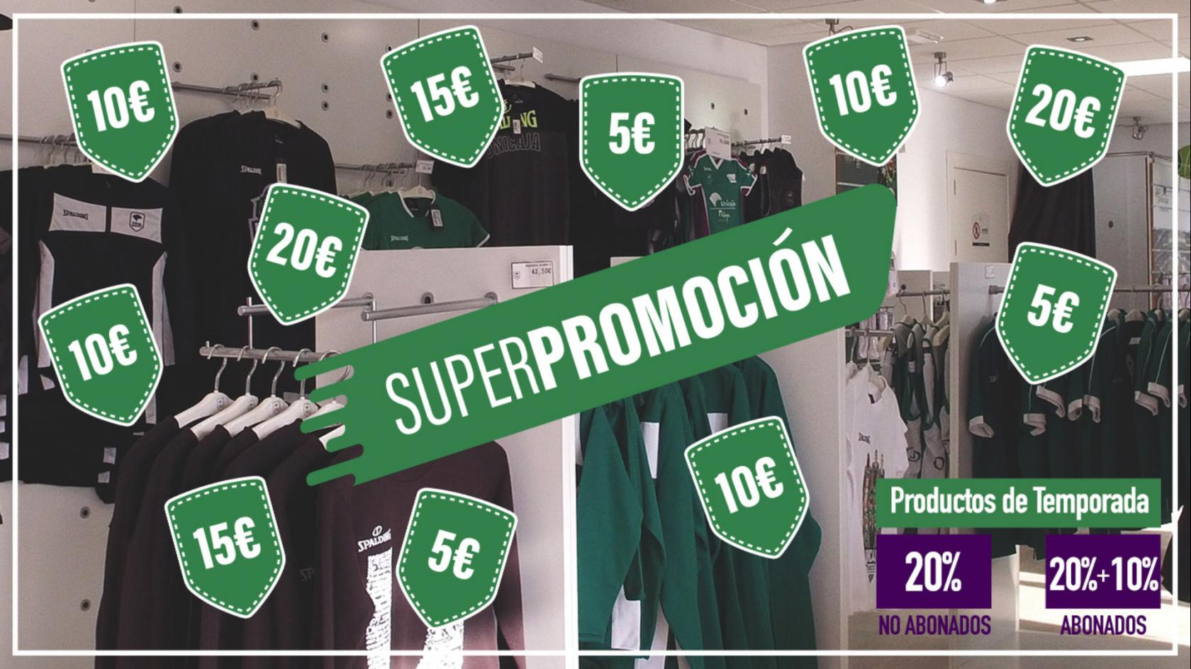 Wear your Unicaja colors this spring with our offers!