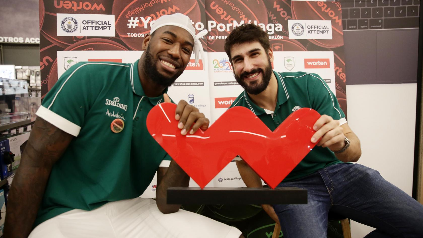 Worten and Unicaja Baloncesto hold a Basket Tour with the players