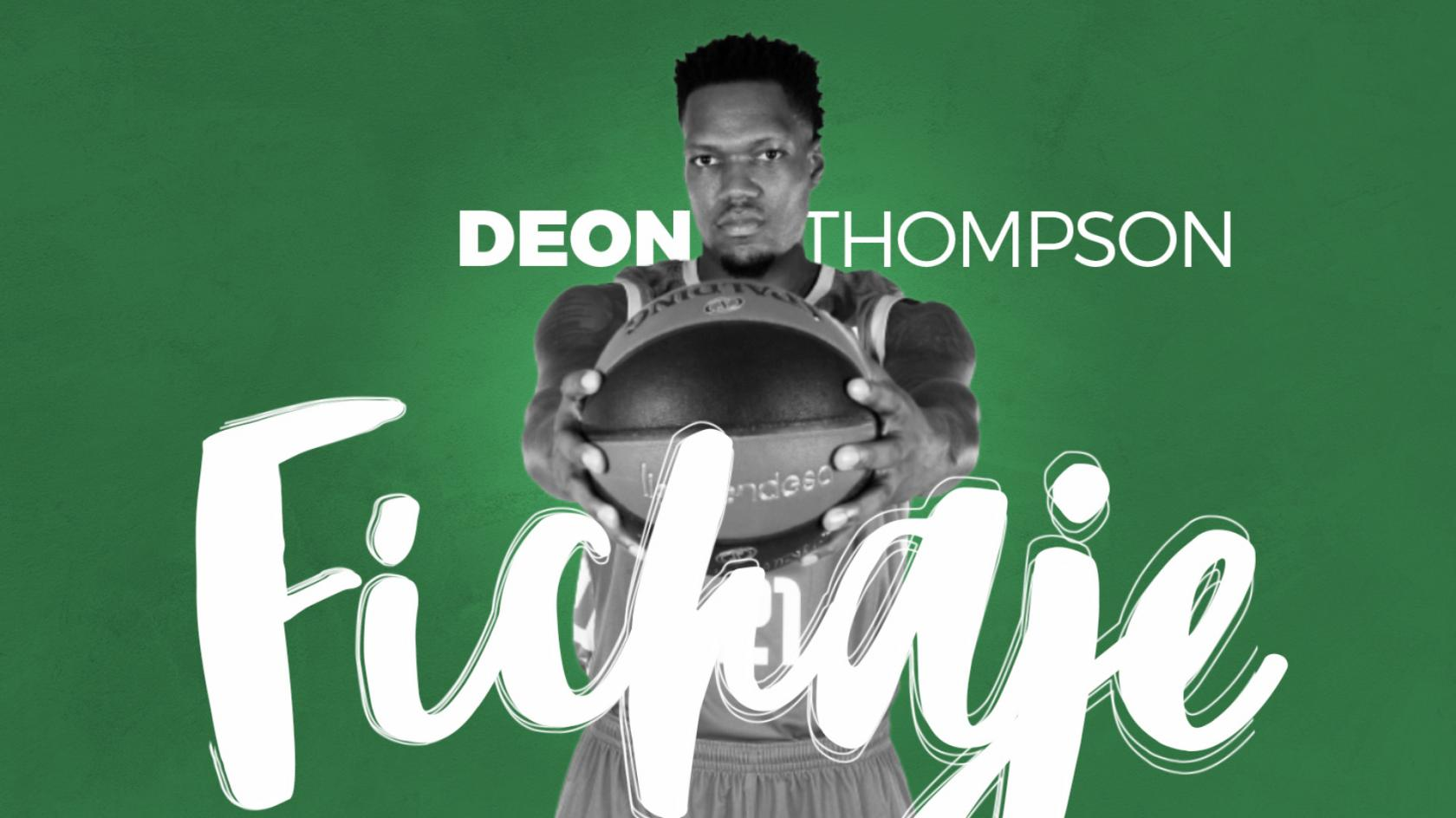 Deon Thompson, first signing of the season 2019-20