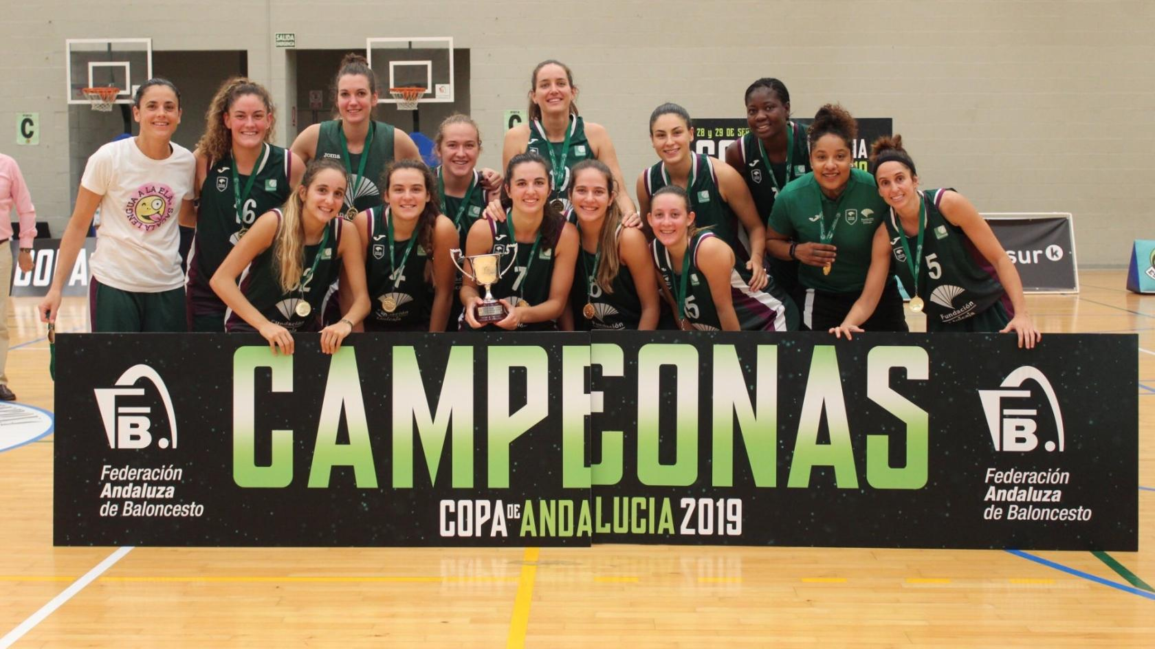 Unicaja Female team, in the Andalusian Cup