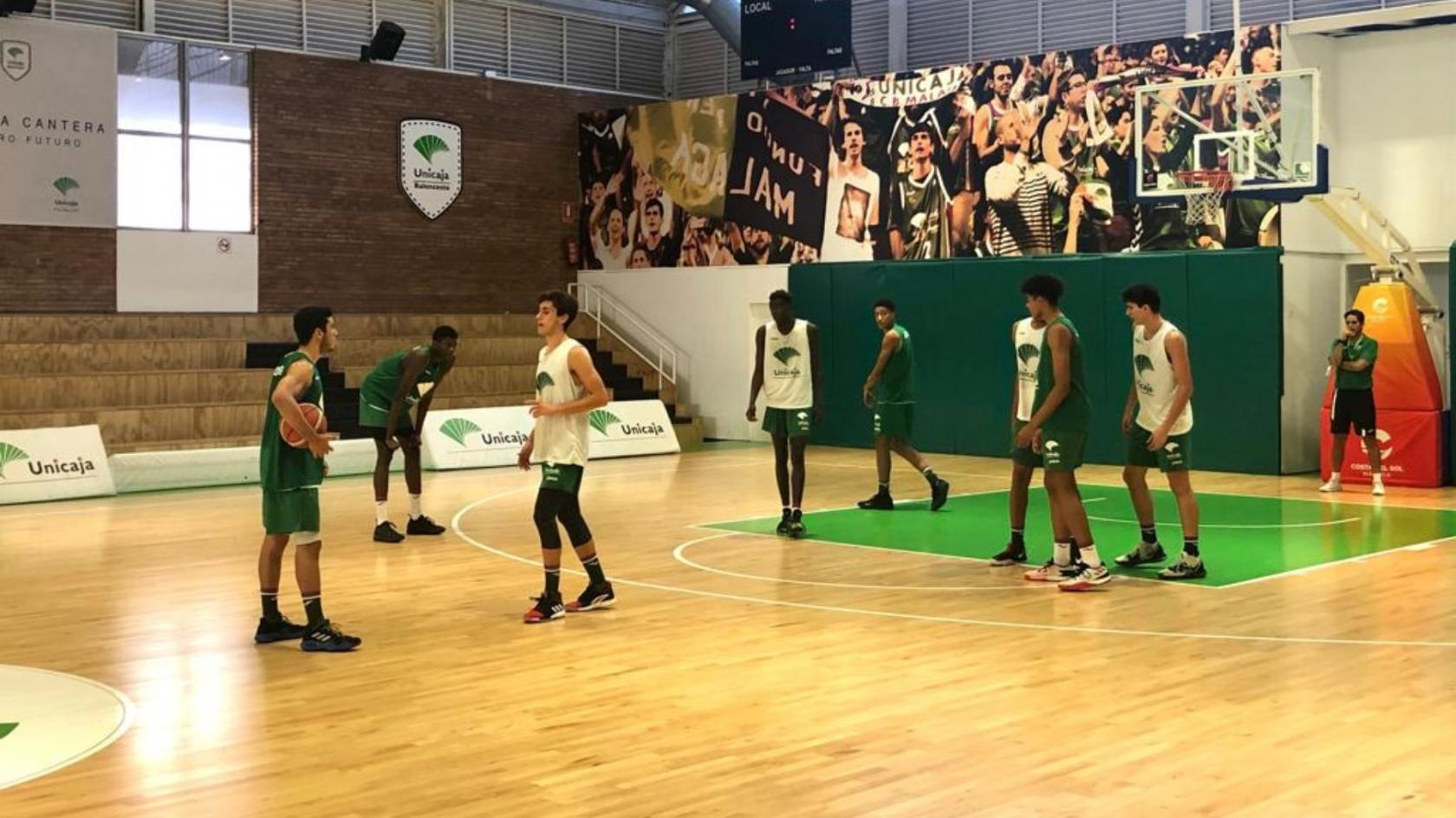 Unicaja Andalucía, at the Adidas Next Generation Tournament 2019/20 edition