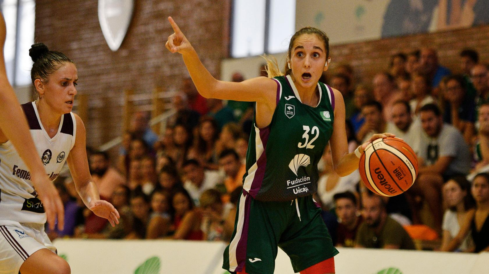 Unicaja Female team, to Barcelona looking for its first victory in Liga Femenina 2