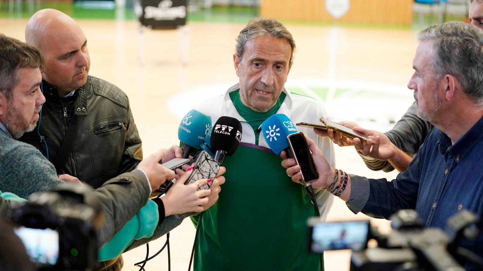 "Luis Casimiro: ""It will be a hard and difficult game against MoraBanc Andorra"""