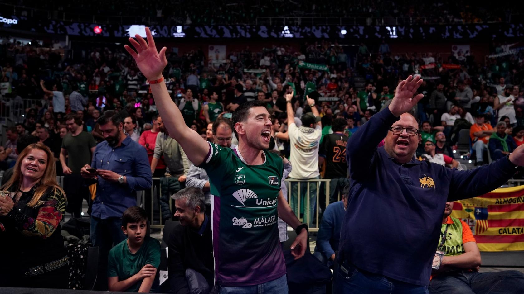 Unicaja renew all its season ticket holders paying nothing
