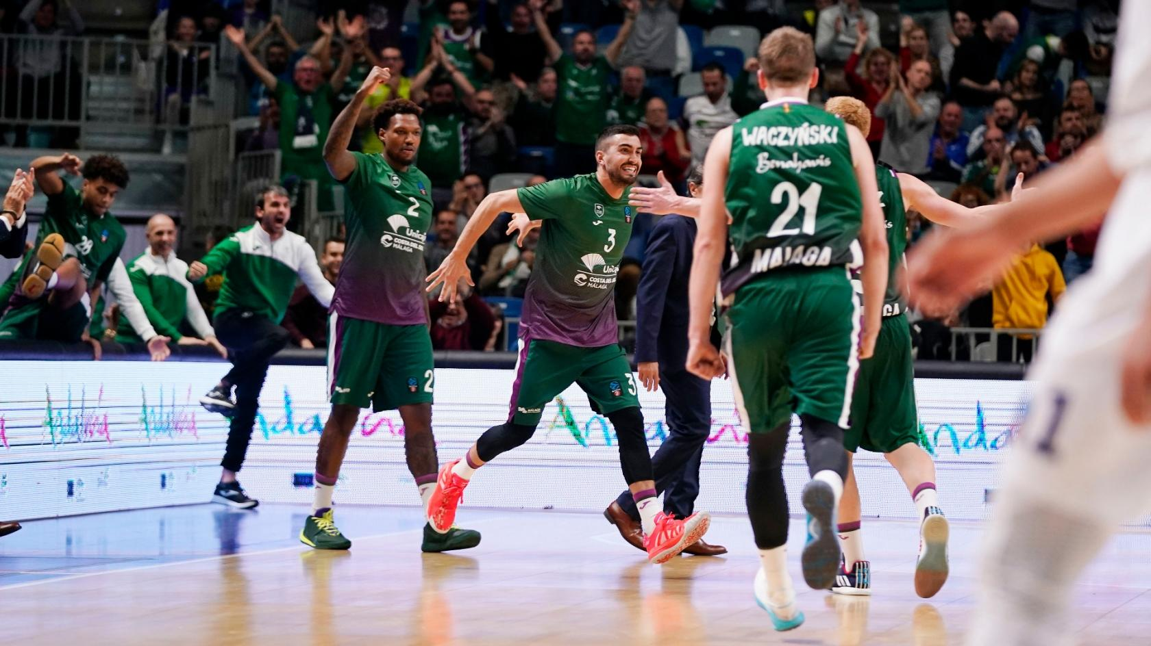 Los topes del Unicaja en la 7DAYS Eurocup 2019/20