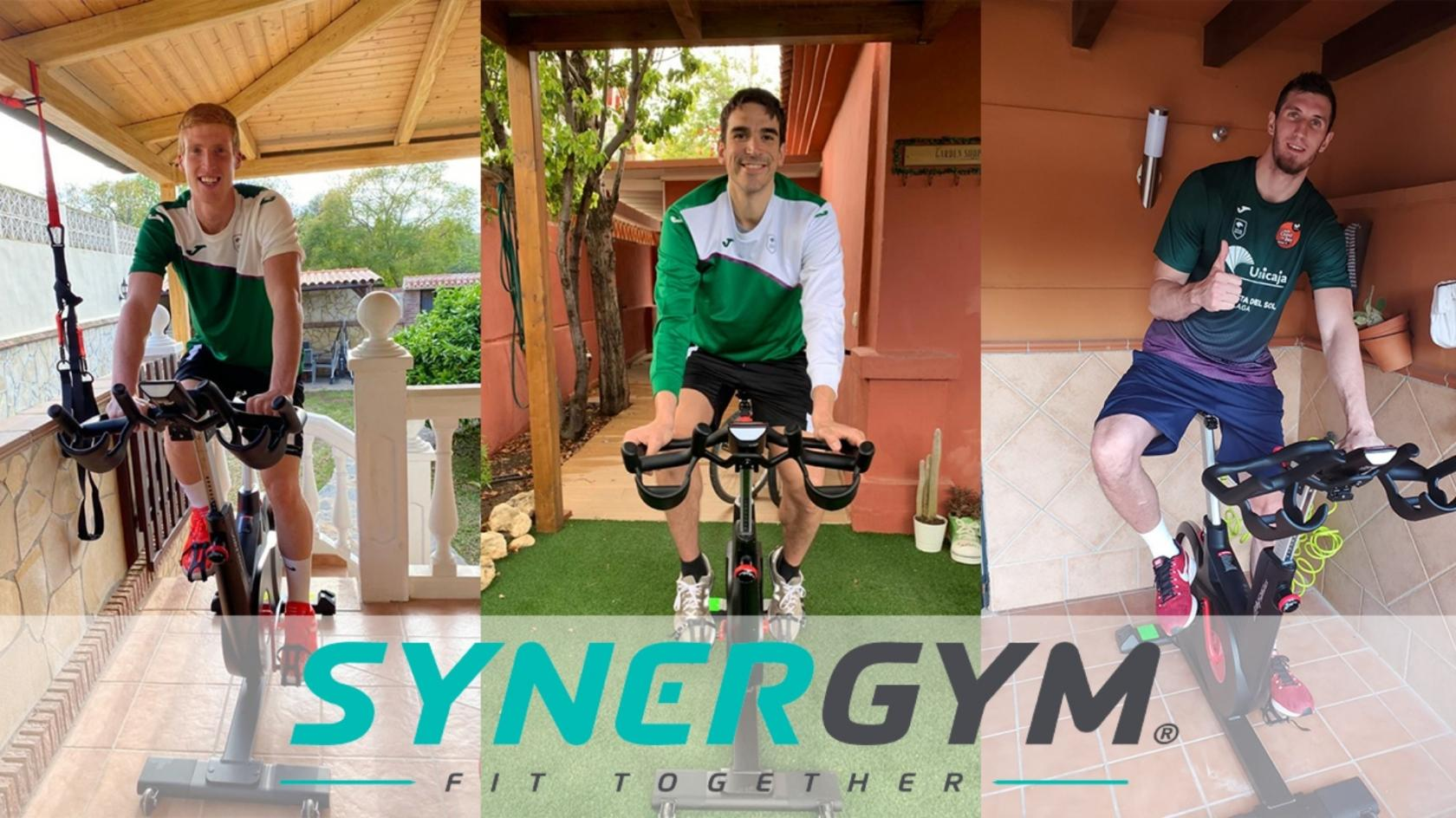 Synergym provides indoor cycle bikes for all players