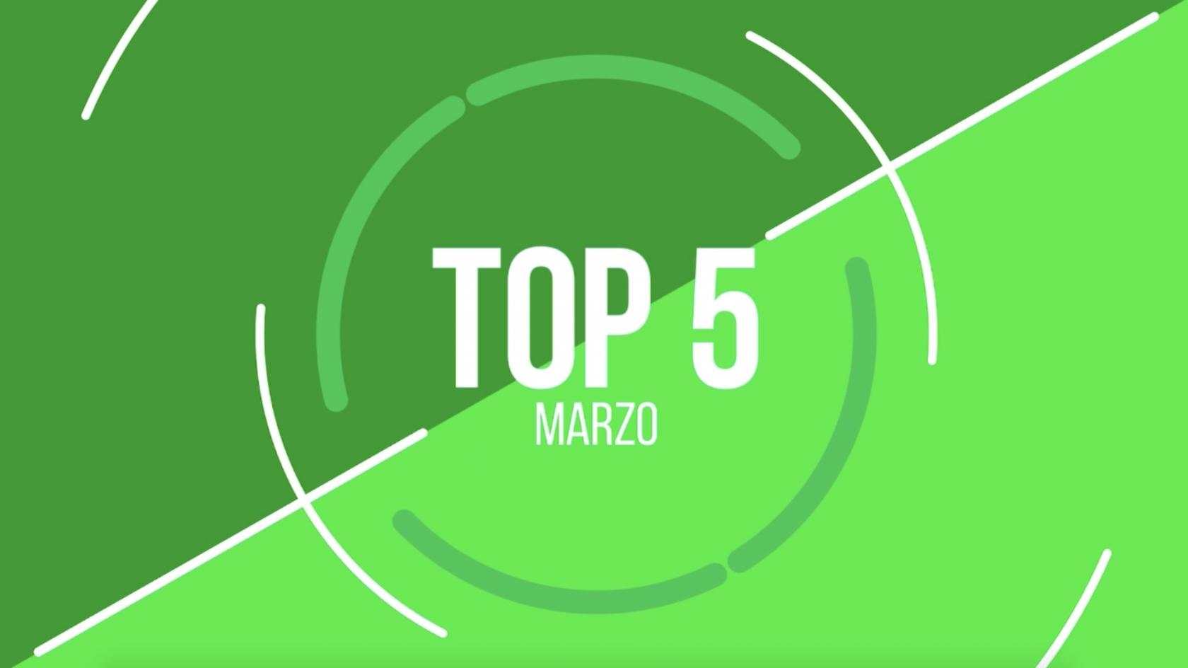 Top 5 of Unicaja  in March