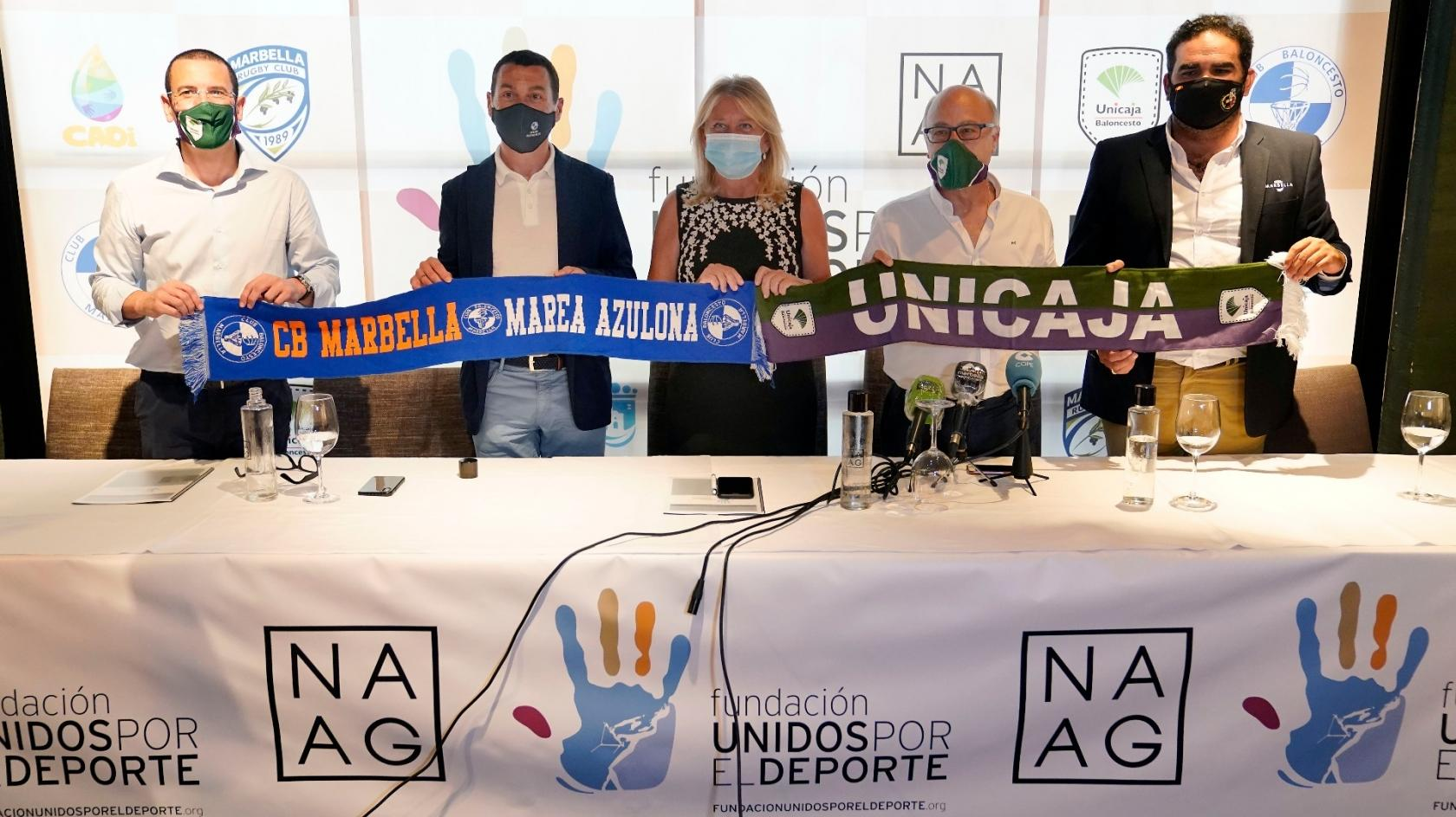 Unicaja Baloncesto and CB Marbella sign a relationship agreement