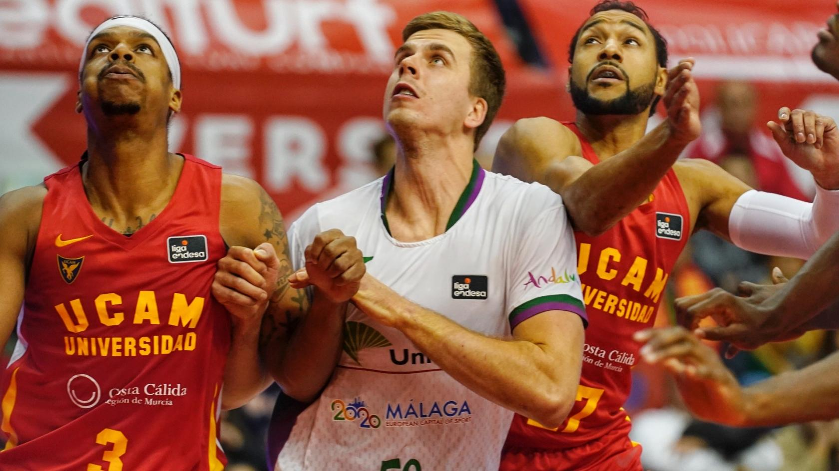 Unicaja will play in Murcia a friendly tournamet against UCAM and Valencia Basket