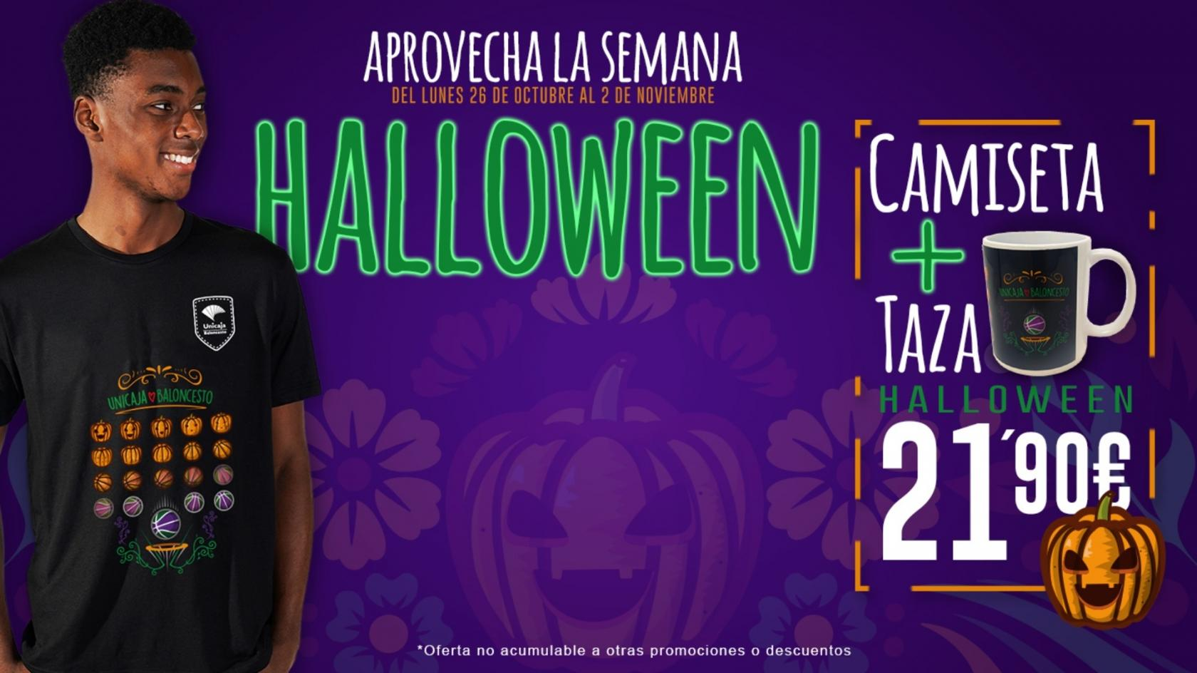 Get the special Halloween pack from Unicaja!