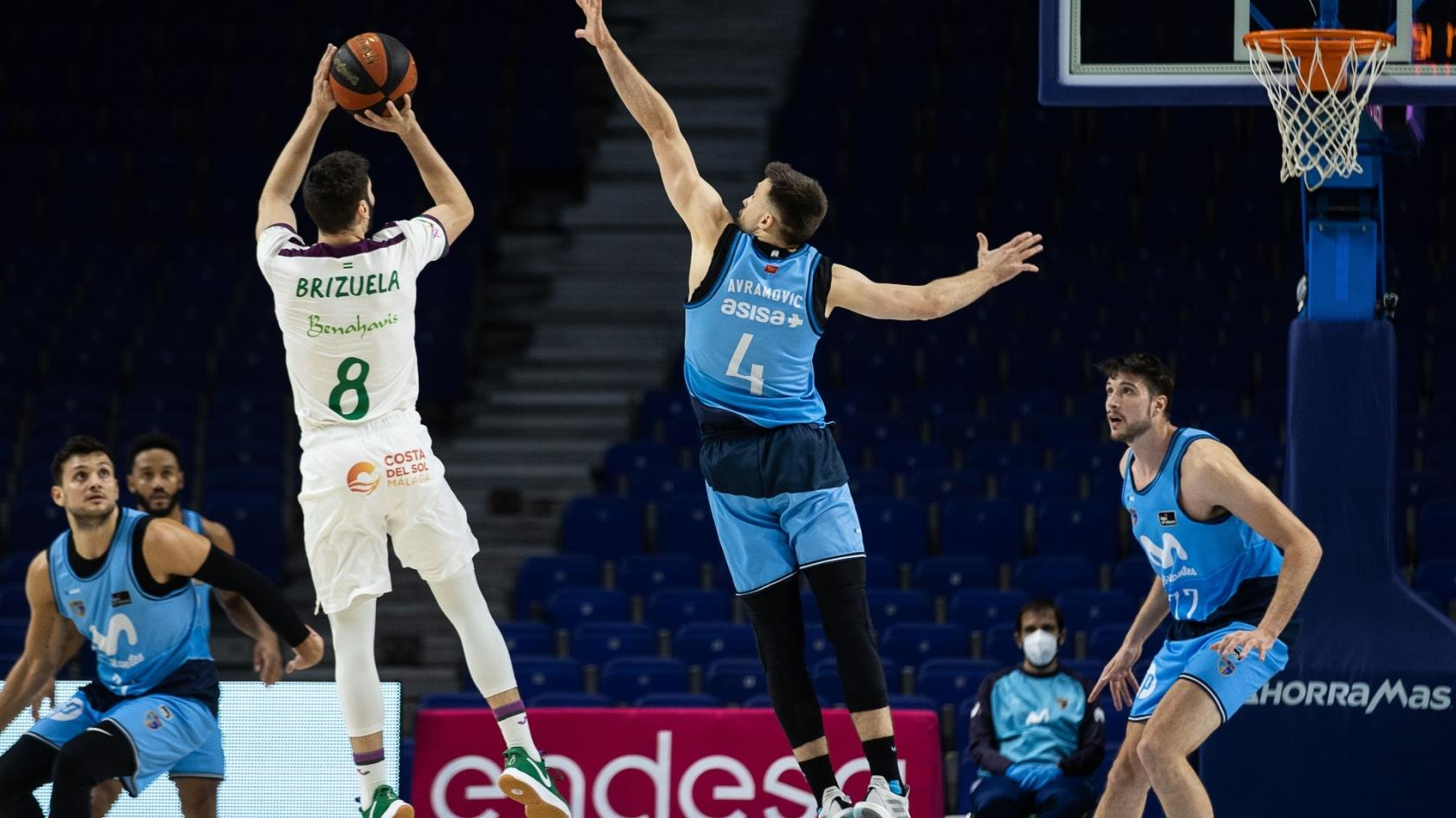 Unicaja knows how to suffer to win (90-92)
