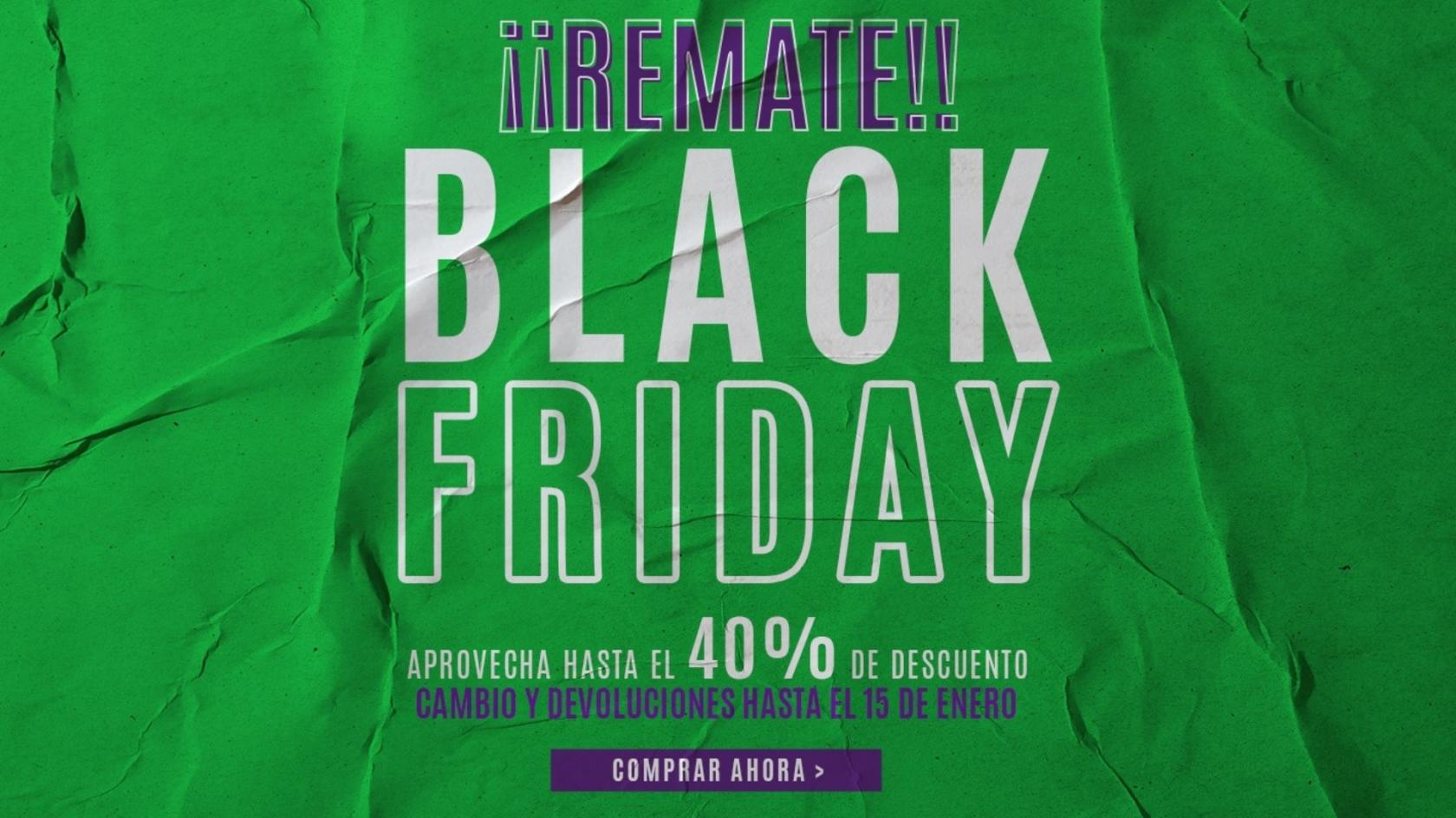 Total sale on Unicaja´s Black Friday with discounts of 40%!