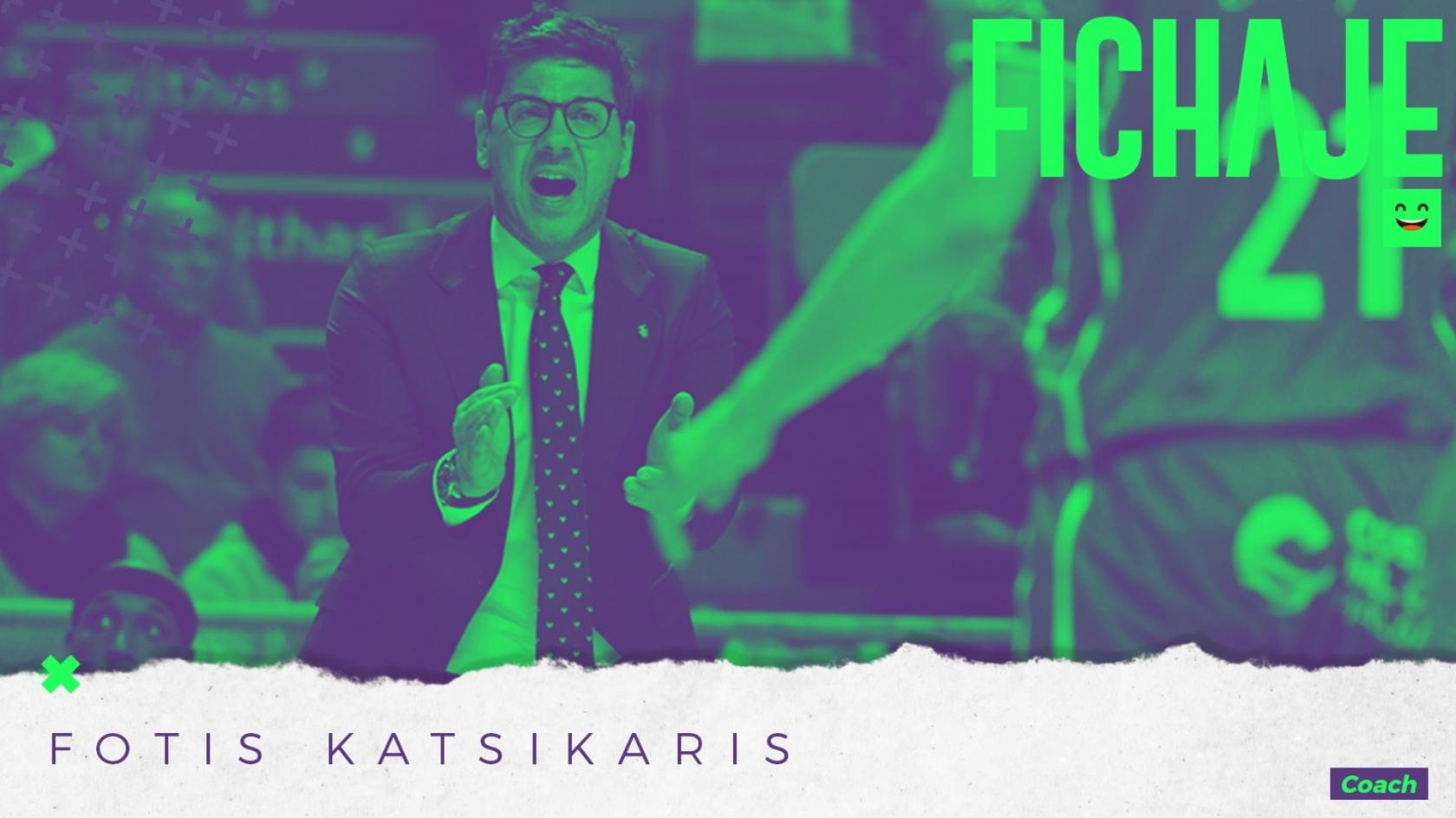 Fotsis Katsikaris arrives in the bench of Unicaja