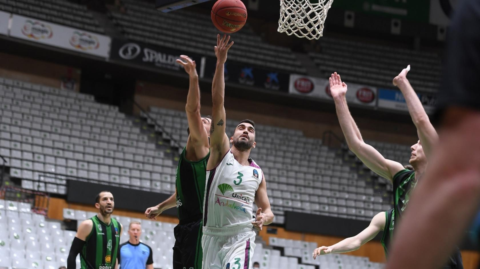 Jaime Fernández, MVP of Round 5 of the Top 16 of the 7DAYS Eurocup